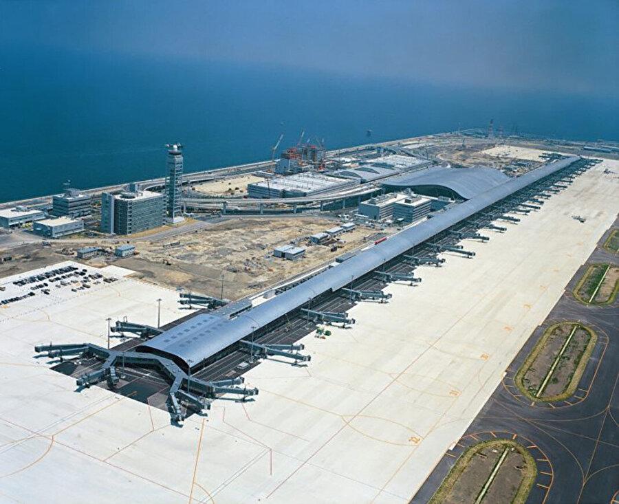 Kansai Uluslararası Havalimanı, 1994, Japonya-Osaka.