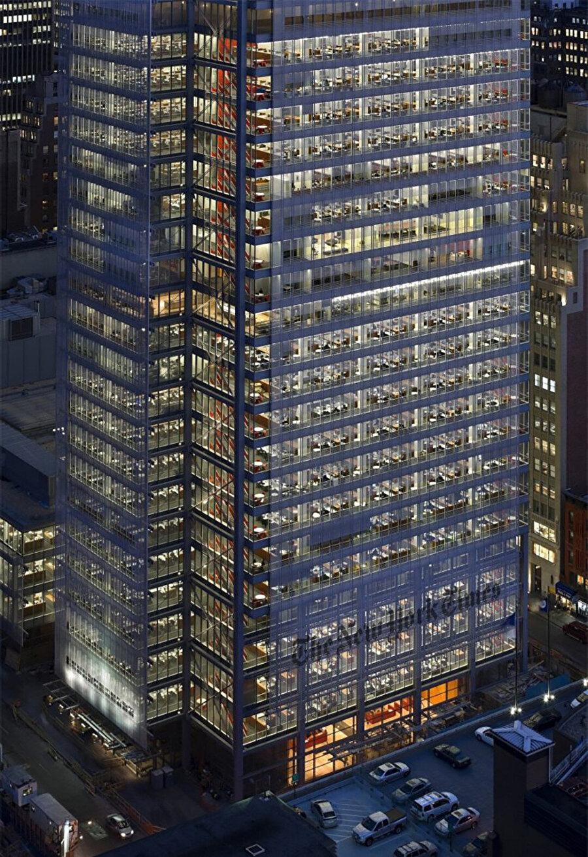 The New York Times Binası, 2007, ABD-New York.