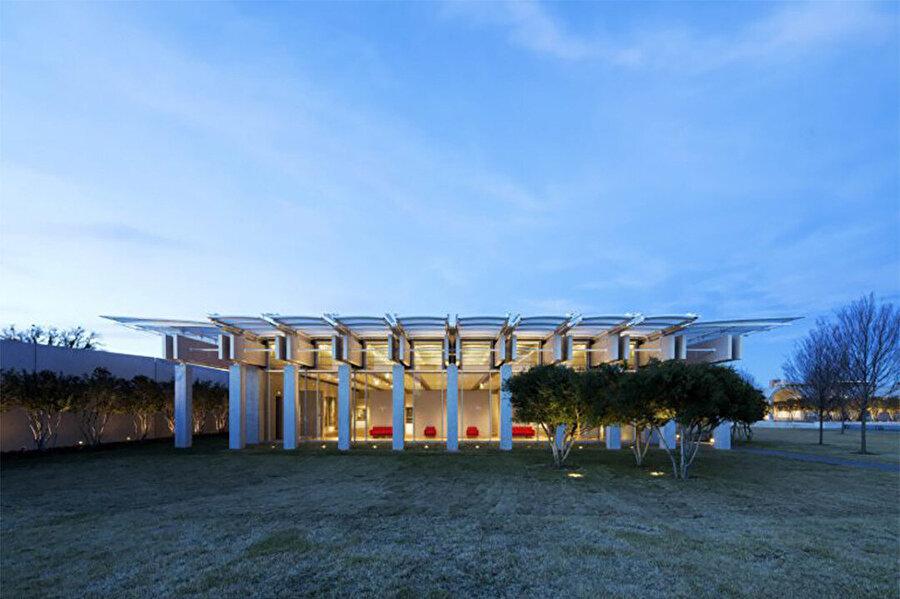Kimbell Sanat Müzesi Ek Binası, 2013, ABD-Teksas, Fort Worth.