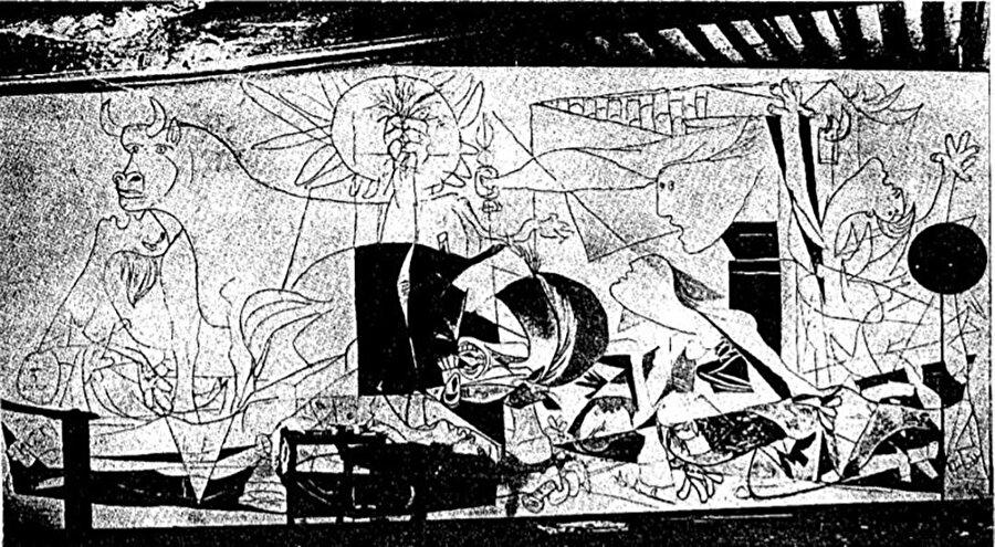 Guernica'nın 2. aşaması.