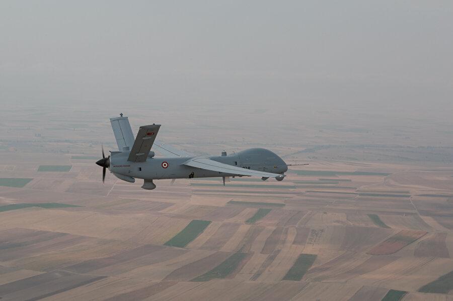 Türk Havacılık ve Uzay Sanayii (TUSAŞ) tarafından üretilen insansız hava aracı (İHA) Anka böyle görüntülenmişti.