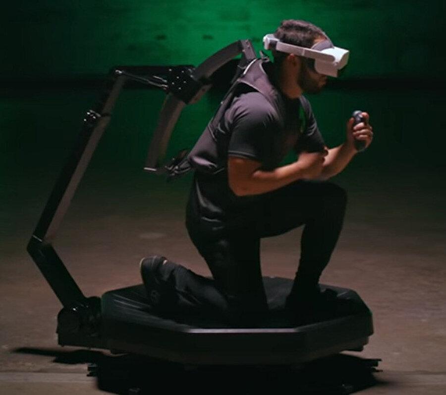Omni One prototipi, önümüzdeki yıllarda spor salonlarında bu yapının kullanılabileceğini gösteriyor.