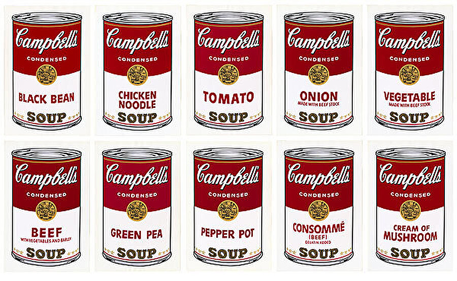 Andy Warhol, Campbell's Soup, 1968.