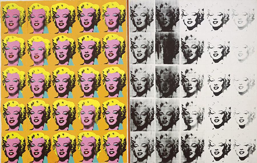 Andy Warhol, Marilyn Diptych, 1962.