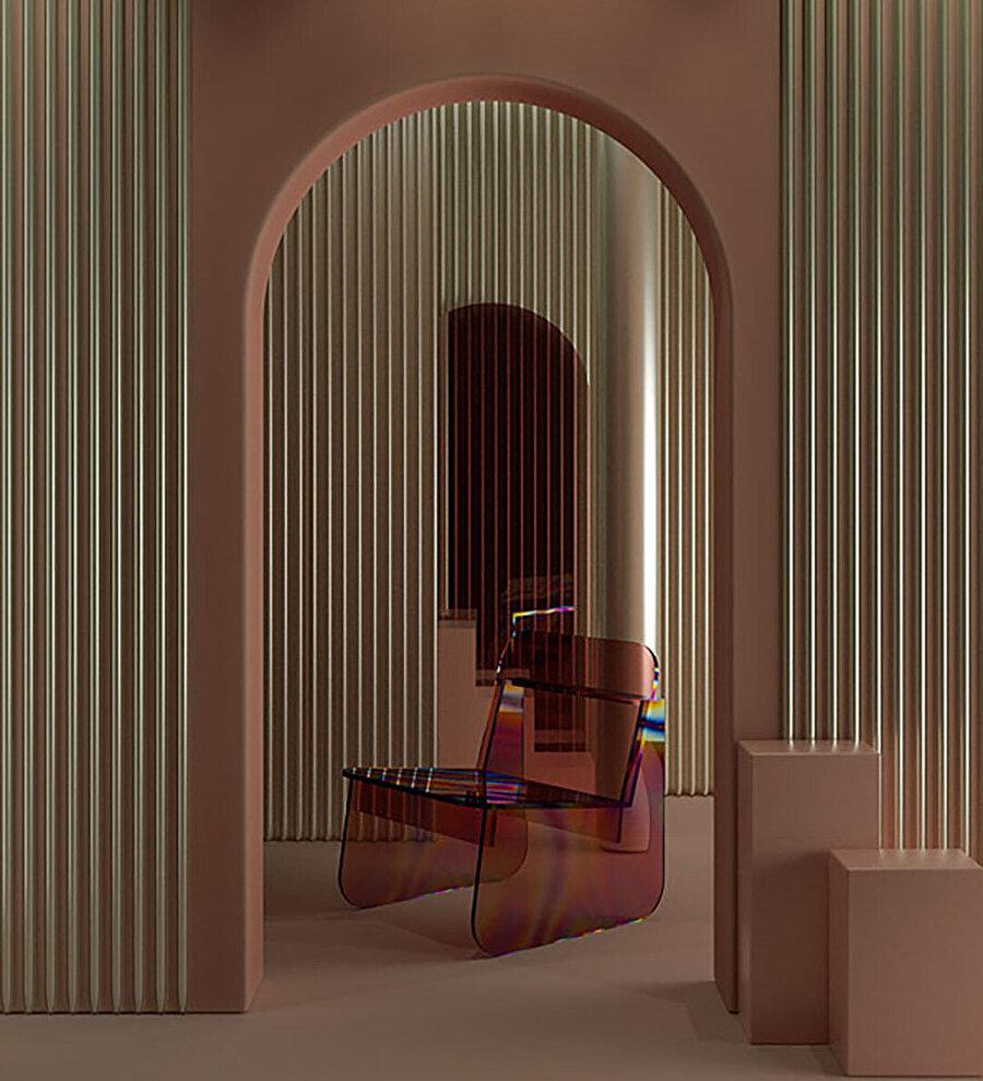 Modernist hareket, ölçülü ve basit şekle sahip tasarım.