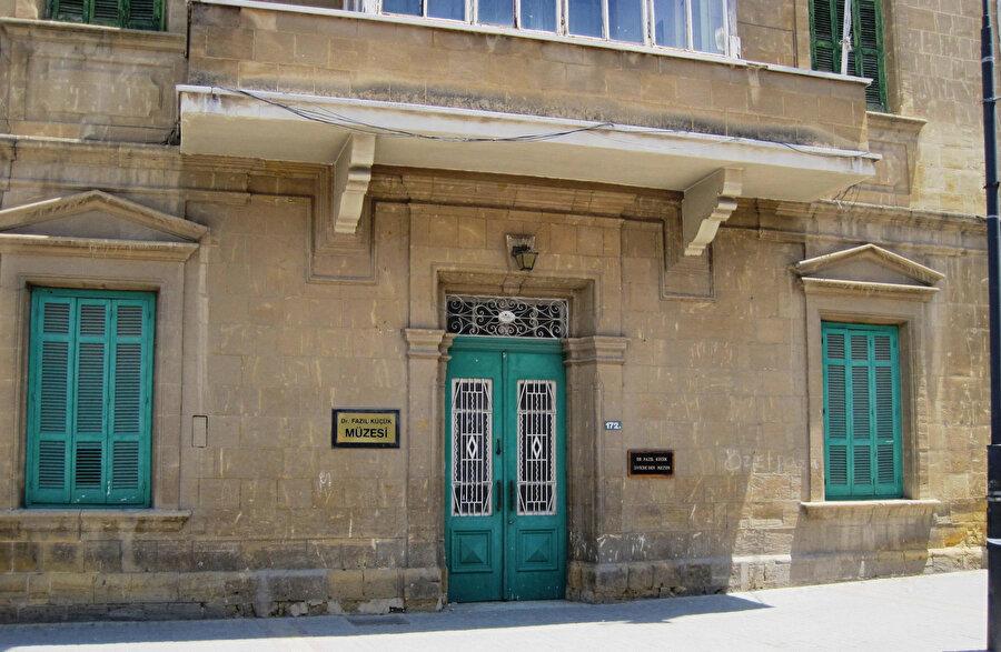 Dr. Fazıl Küçük Müzesi.