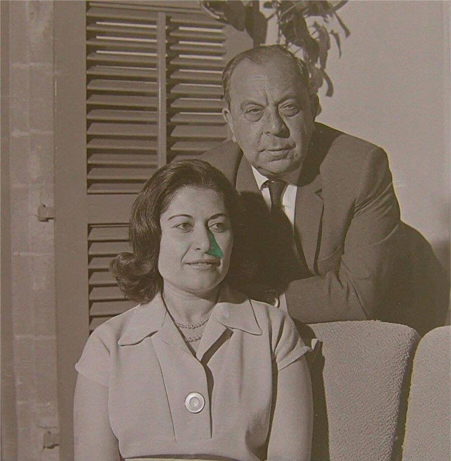 Dr.Fazıl Küçük eşi Süheyla Küçük ile.