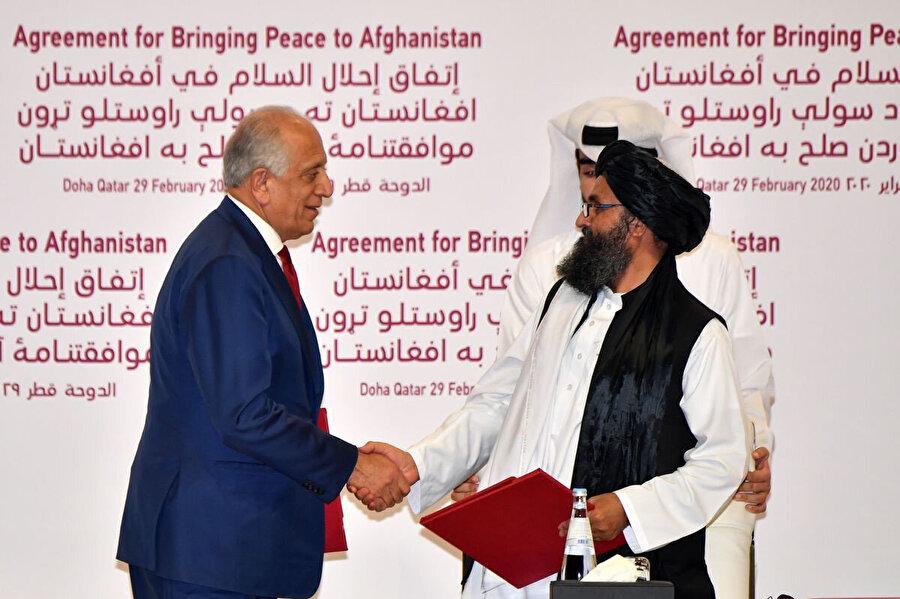 Her iki taraf arasında Afganlar arası müzakerelerin nasıl yürütüleceği ve içeriği konusunda 20 maddelik bir tasarı hazırlandı.