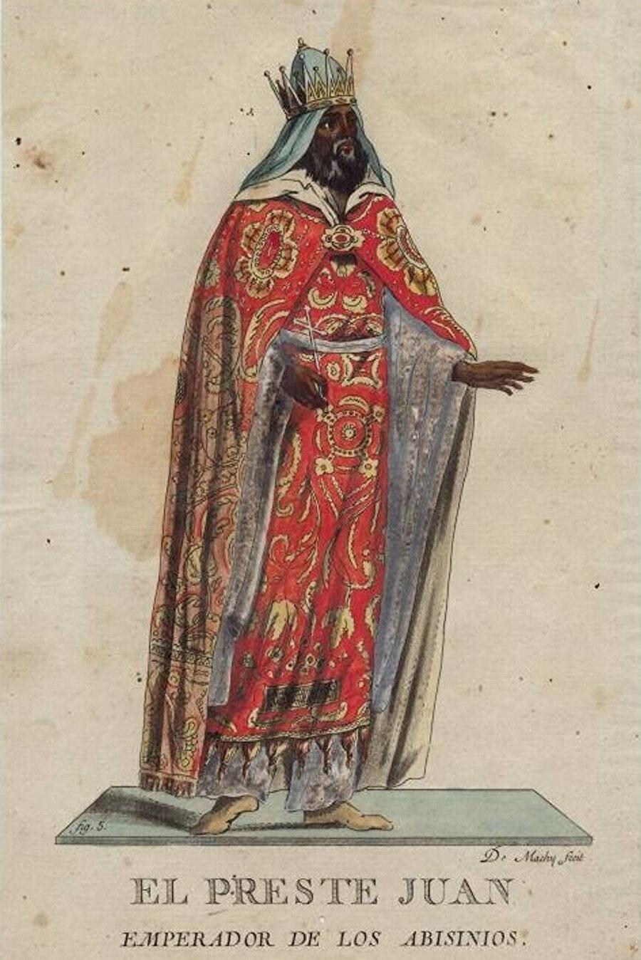 Rahip Kral John'un Habeşistan'ın kralı olduğu iddiası, en çok kabul gören düşünce oldu.