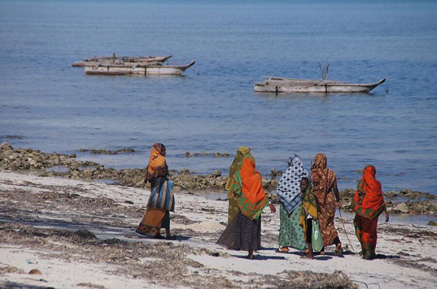Ana ada Zanzibar ve Pemba Adası adası olmak üzere iki adadan oluşan yönetsel bölgenin başkenti Stone Town'dır. Fotoğraf: Sevde Sevan Uşak
