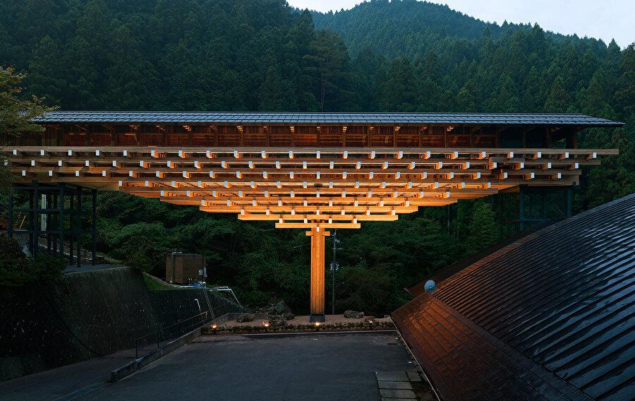 Wooden Bridge Museum, Yusuhara, Japonya.