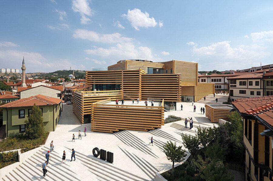 Odunpazarı Modern Müzesi, Eskişehir, Türkiye.