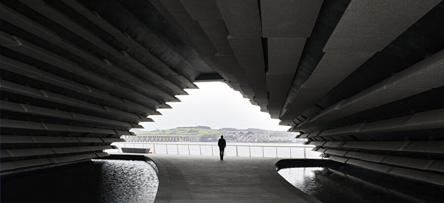 V&A Dundee Museum, avlu.