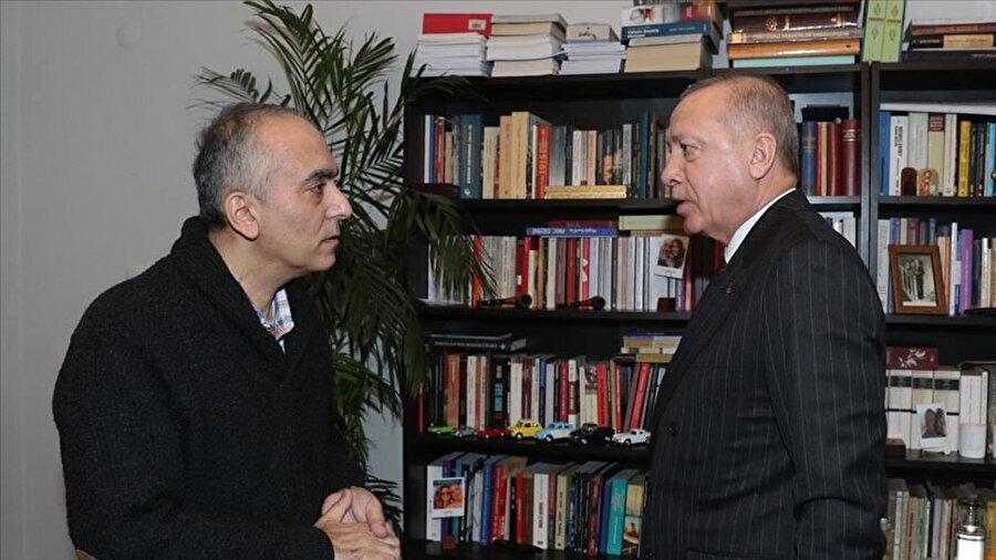 Cumhurbaşkanı Erdoğan ve Markar Esayan