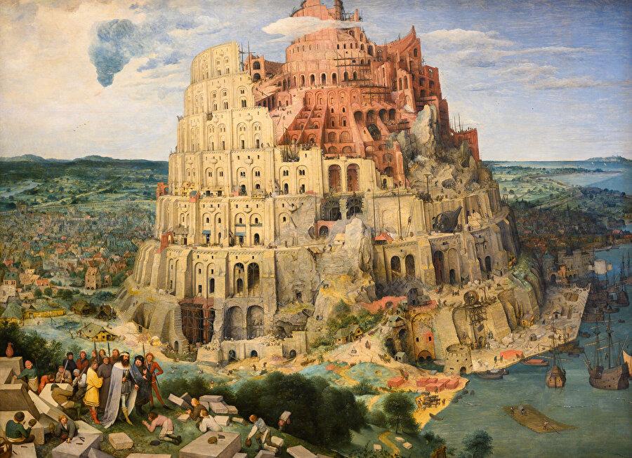 Babil Kulesi, Pieter Brueghel (1563)