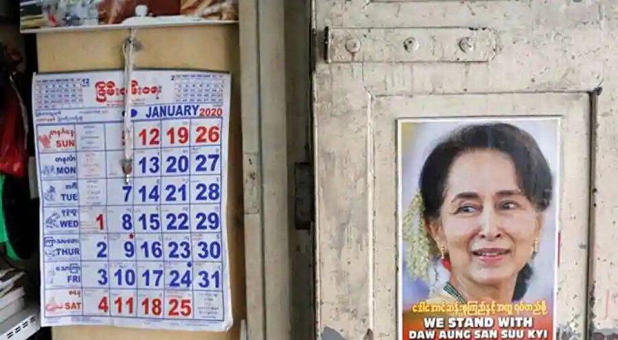 Myanmar Seçim Komisyonu, bazı bölgelerde seçimleri iptal etti.