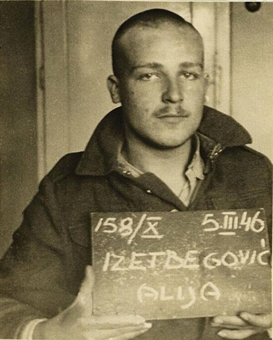 Genç Aliya, daha önce yaptığı bir konuşma sebebiyle 1946 yılında tutuklandı ve 3 yıl hapse mahkum edildi.