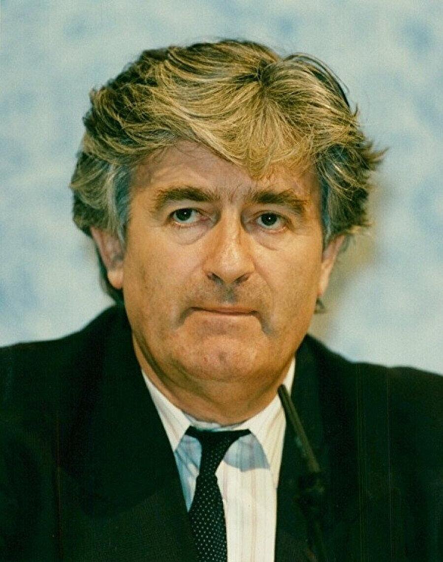 Bosna Sırp Cumhuriyeti Cumhurbaşkanı Radovan Karadzic.