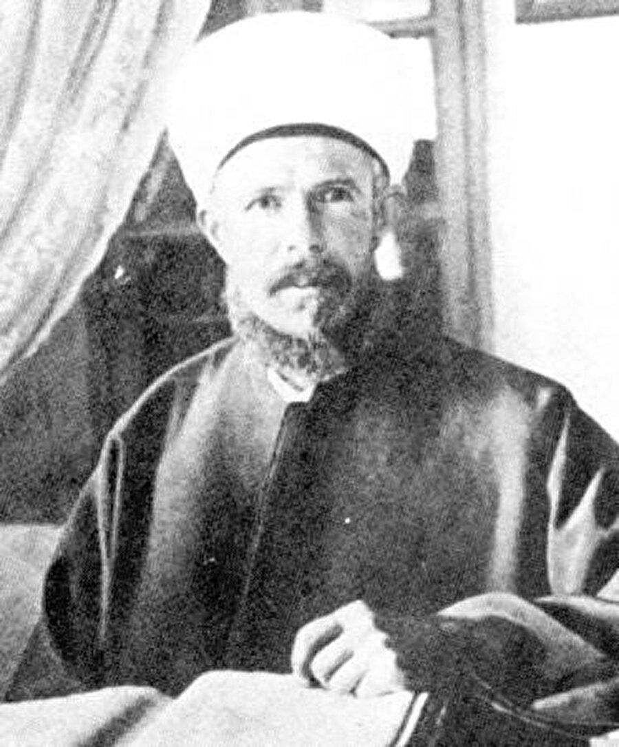 Emin el Hüseyni'nin ağabeyi Kamii el Hüseyni.