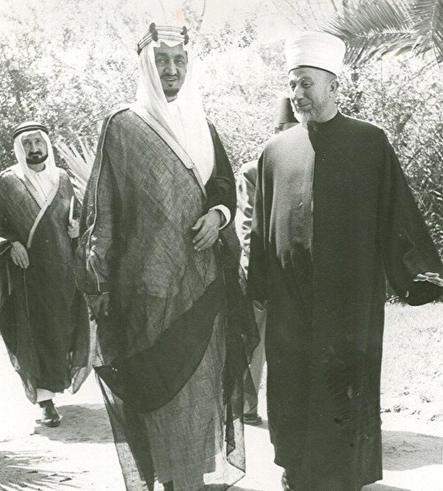 Kral Faysal ile.