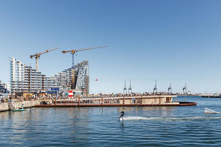 Liman çeşitli etkinlikler için de kullanılıyor.