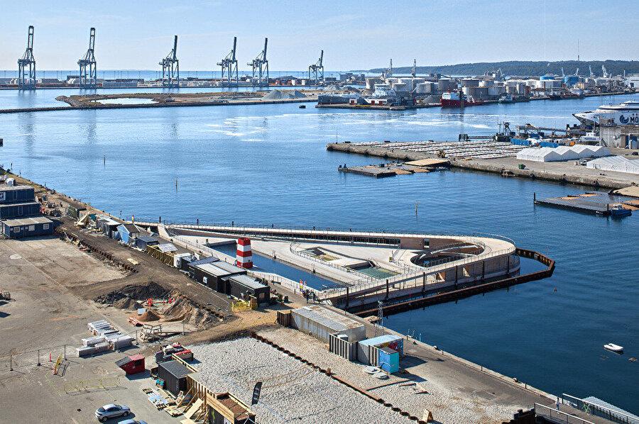 Projenin yapım aşamasından bir fotoğraf.