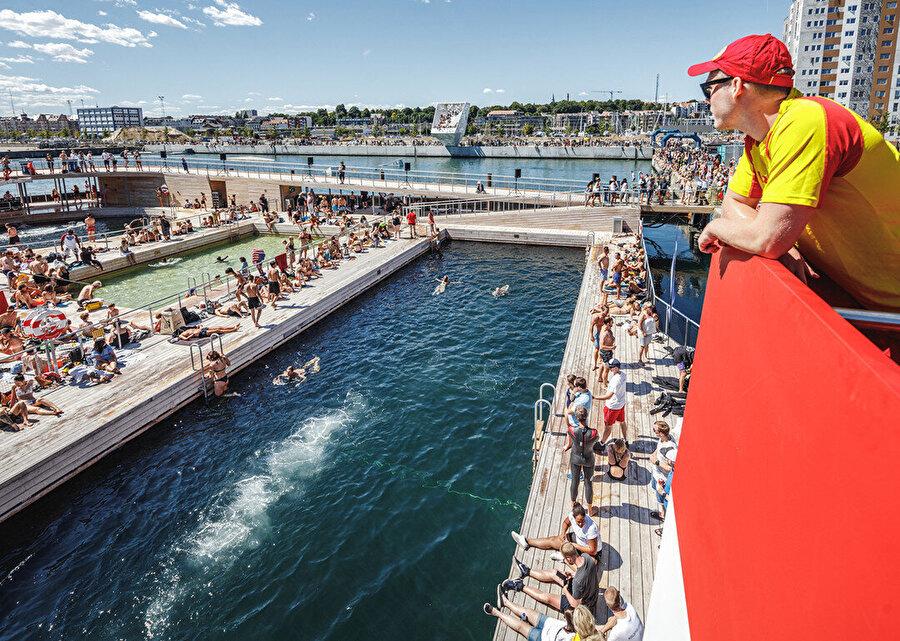 Aarhus Liman Banyosu.
