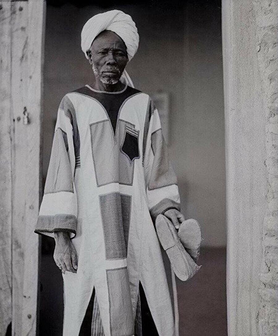 Abdurrahman'ın Omdurman'daki evinde görevli bir ensar üyesi.