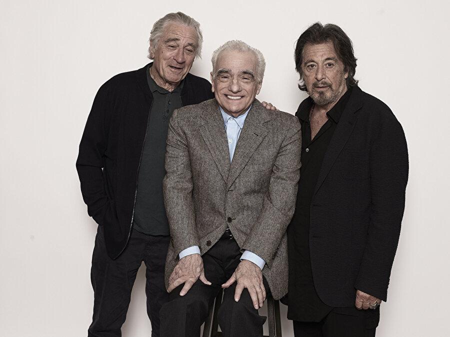 Robert de Niro, Martin Scorsese ve Al Pacino