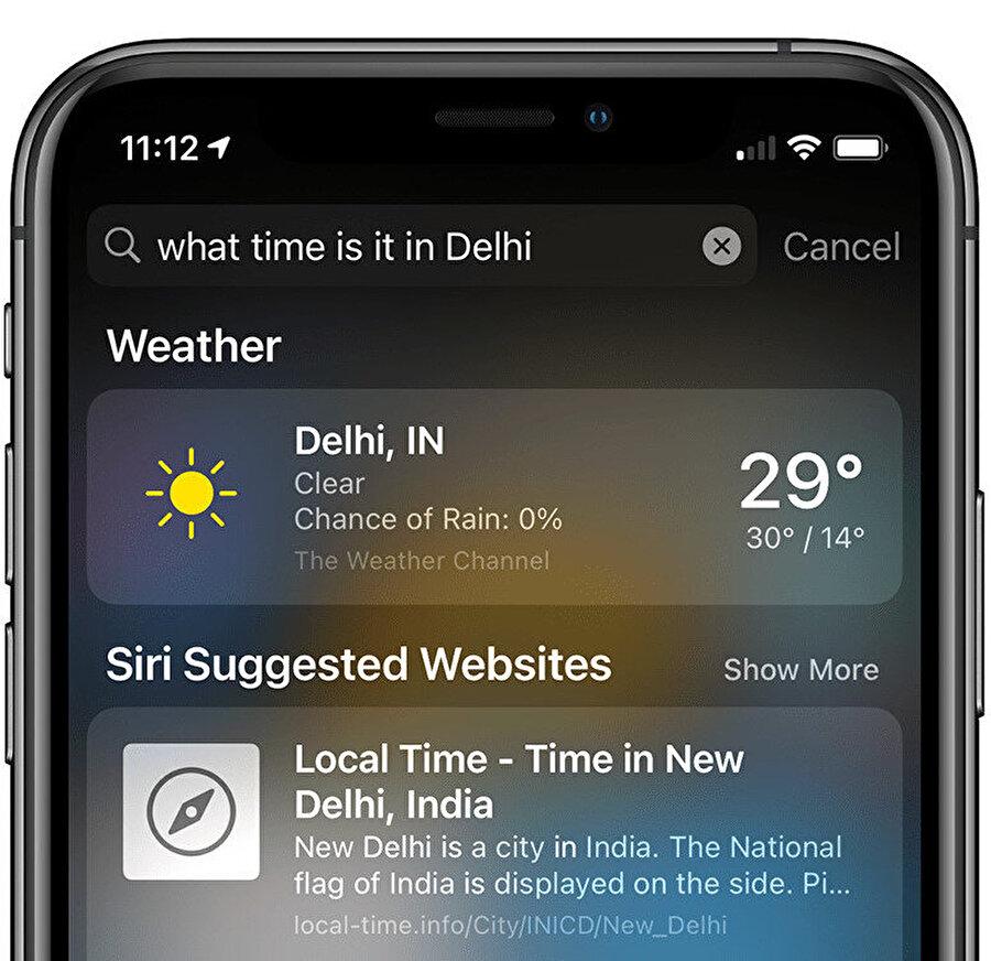 Apple'ın arama motoru çabaları aslında iOS 14 ile birlikte doğrudan sitelere ulaşma konusunda da ortaya çıkıyor. Bunlar ilk adımlar olabilir.