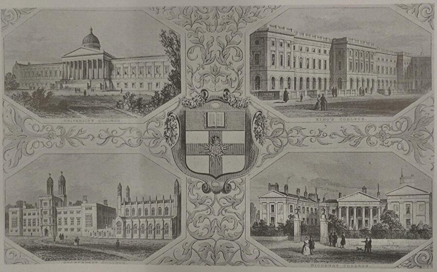 University of London Almanac, 1846