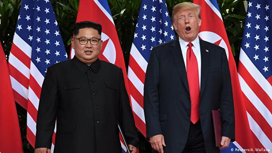 Kuzey Kore'ye ayak basan ilk ABD başkanı oldu
