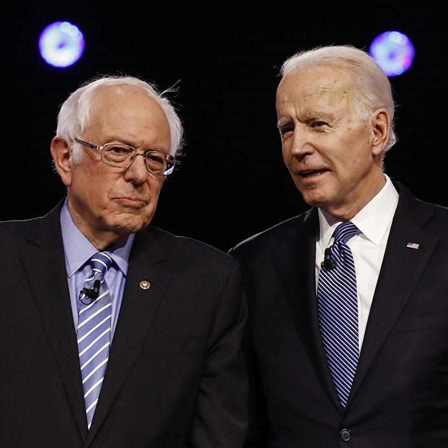 Bernie Sanders ve Joe Biden