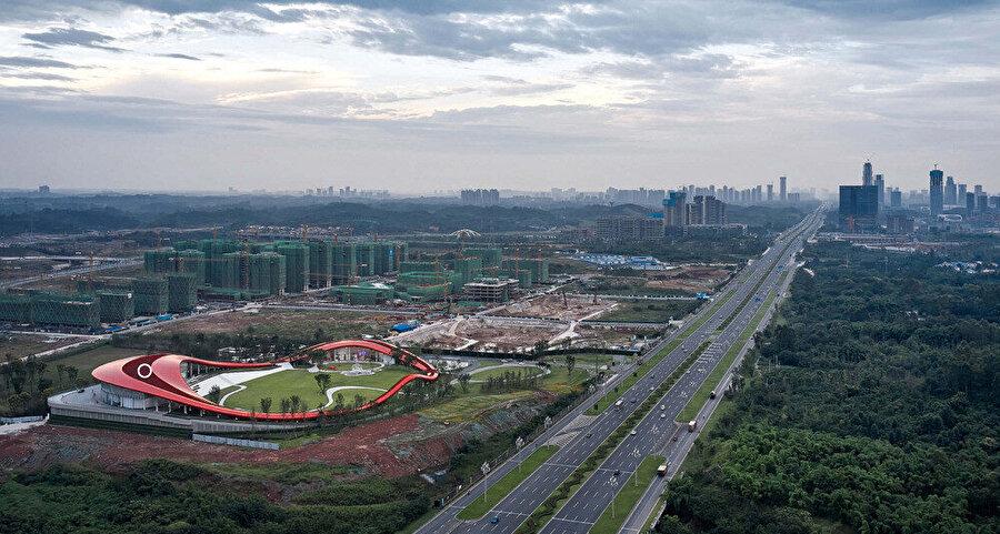 Loop of Wisdom'a şehir perspektifinden bakış.