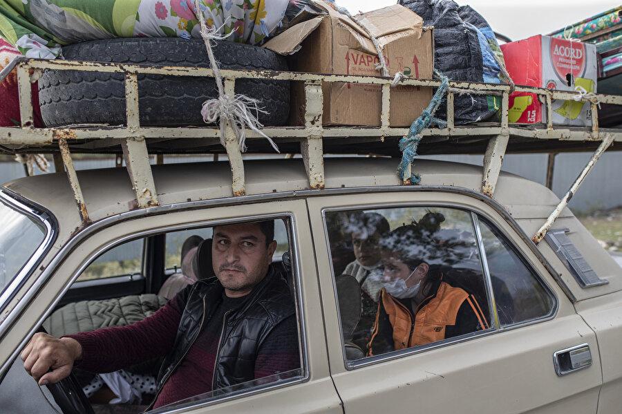 İlde yaşayanların çoğu sığınaklarda yaşamlarını sürdürürken, bazıları ise kente geri döndü.