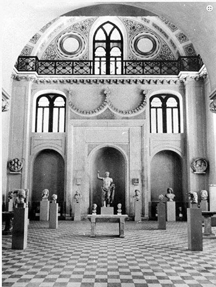 Hamidiye Camii, Arkeoloji Müzesi iken...
