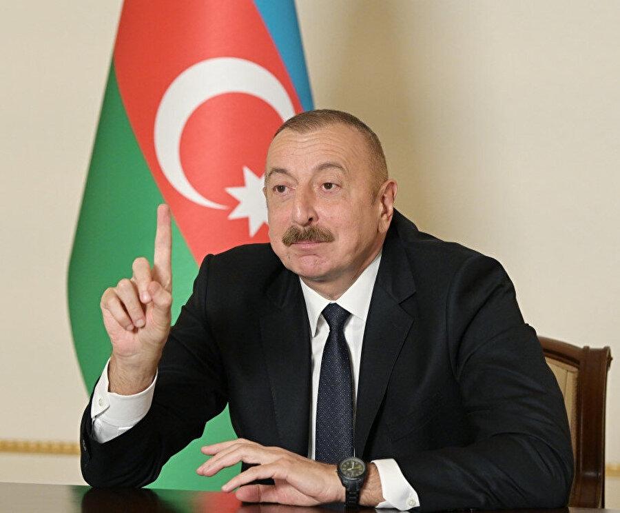 Aliyev: Paşinyan bu anlaşmayı kendi isteğiyle imzalamıyor.