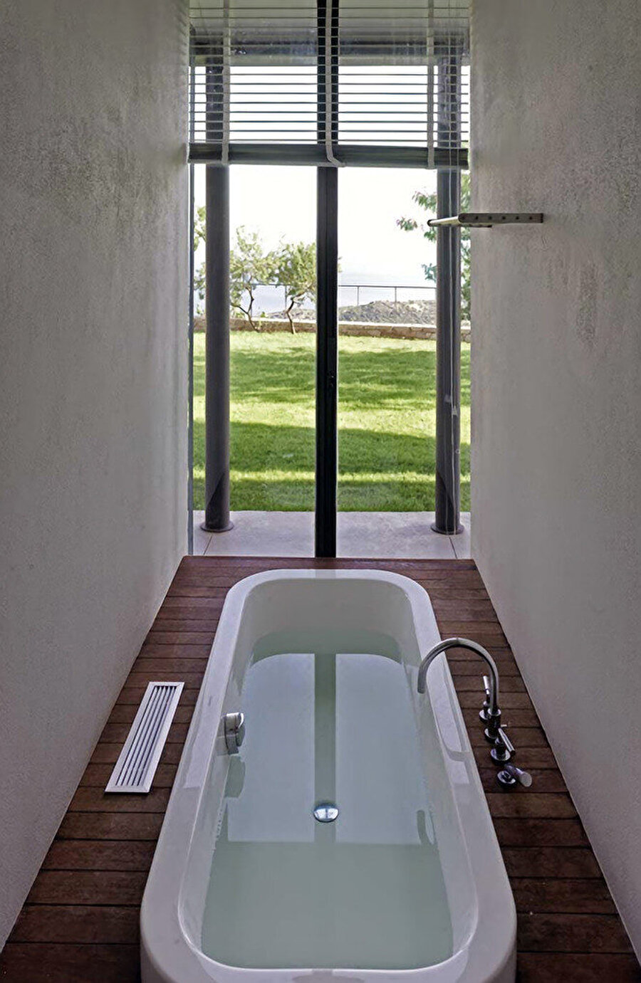 Islak hacim birimlerinin kurgusu, banyo.