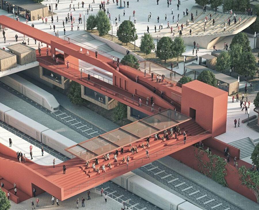 Bakırköy Meydanı için yapılan oylamayı kazanan 12 numaralı proje.