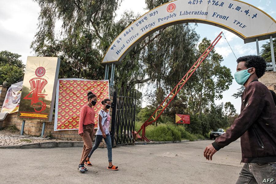 Tigray Halk Kurtuluş Cephesi genel merkezi.