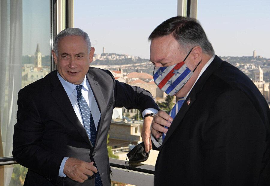 Batı Kudüs'te Netanyahu ile görüşmesinin ardından Pompeo, Batı Şeria'daki yasa dışı Psagot Yahudi yerleşim birimini ziyaret etti.