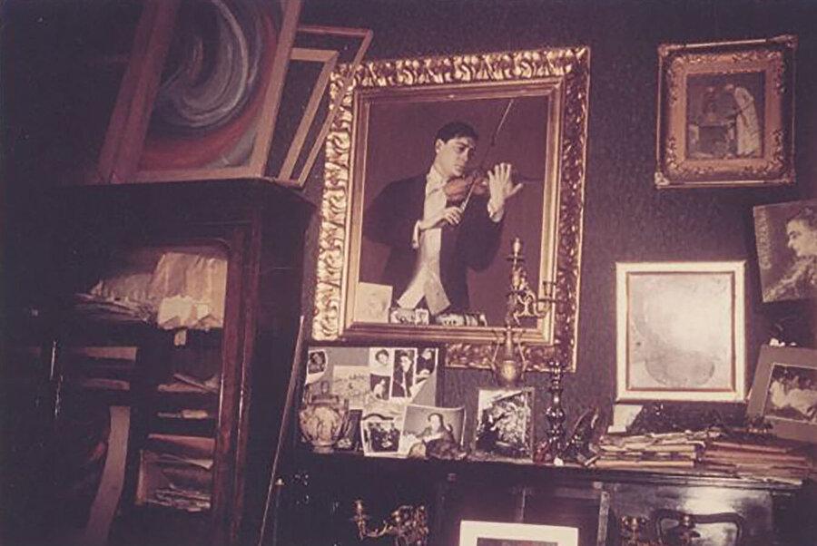 Aliye Berger'in Narmanlı Han'daki odası.