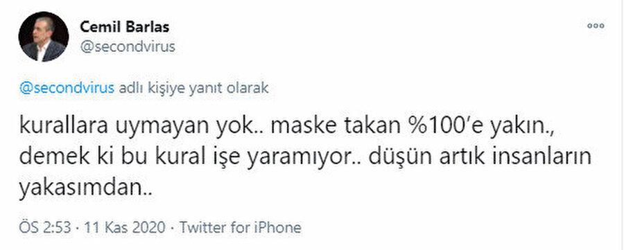 Görüşlerini sosyal medyada dile getiren vatandaş ise Cumhurbaşkanı Erdoğan'a seslenerek bu uygulamanın durdurması çağrısı yapıyor.