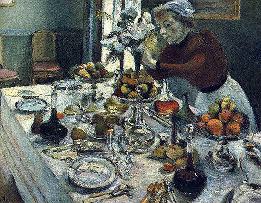 Yemek Masası (The Dinner Table), 1897.