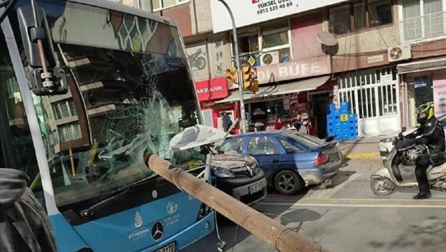 Kaza anından fotoğraf