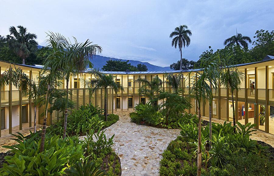 Fransa Elçiliği, Haiti. Fotoğraf: Michel Denancé.