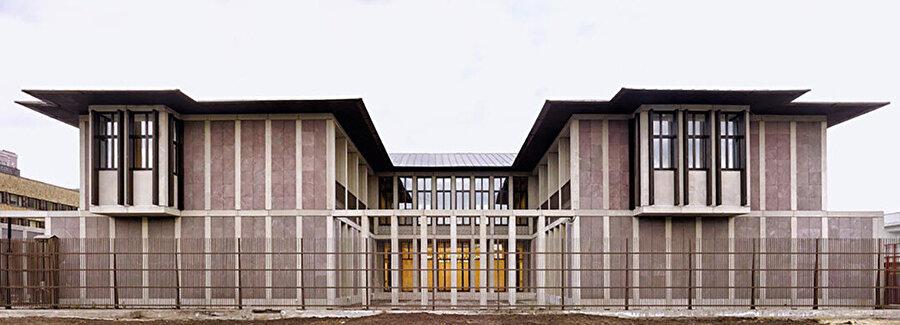 Türkiye Büyükelçiliği İkametgah Binası, Moğolistan. Fotoğraf: Cemal Eldem.