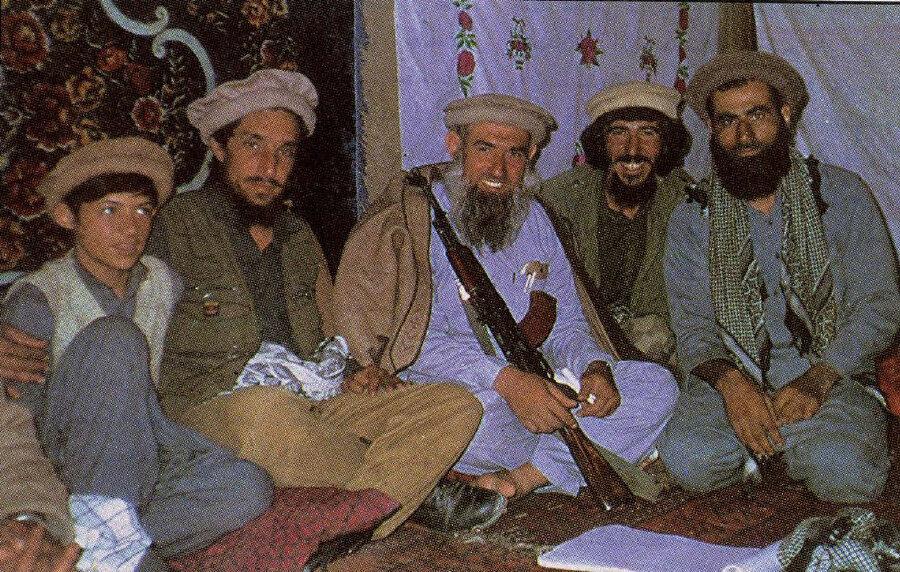 Azzâm, Ahmed Şah Mesud'la birlikte.