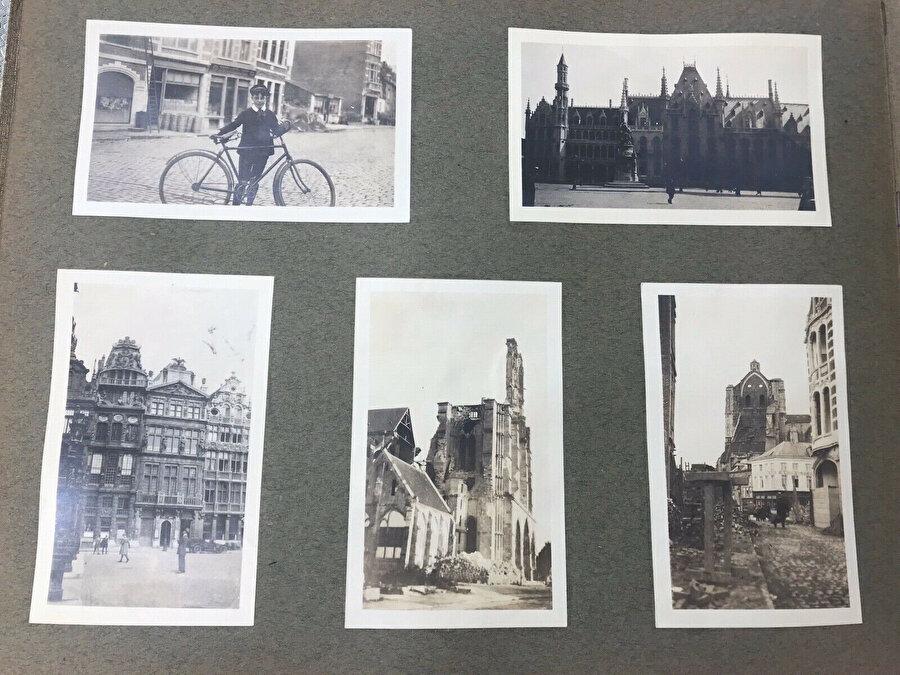 Patria'nın aktif şekilde kullanıldığı dönemlerden Avrupa seyahati fotoğrafları.
