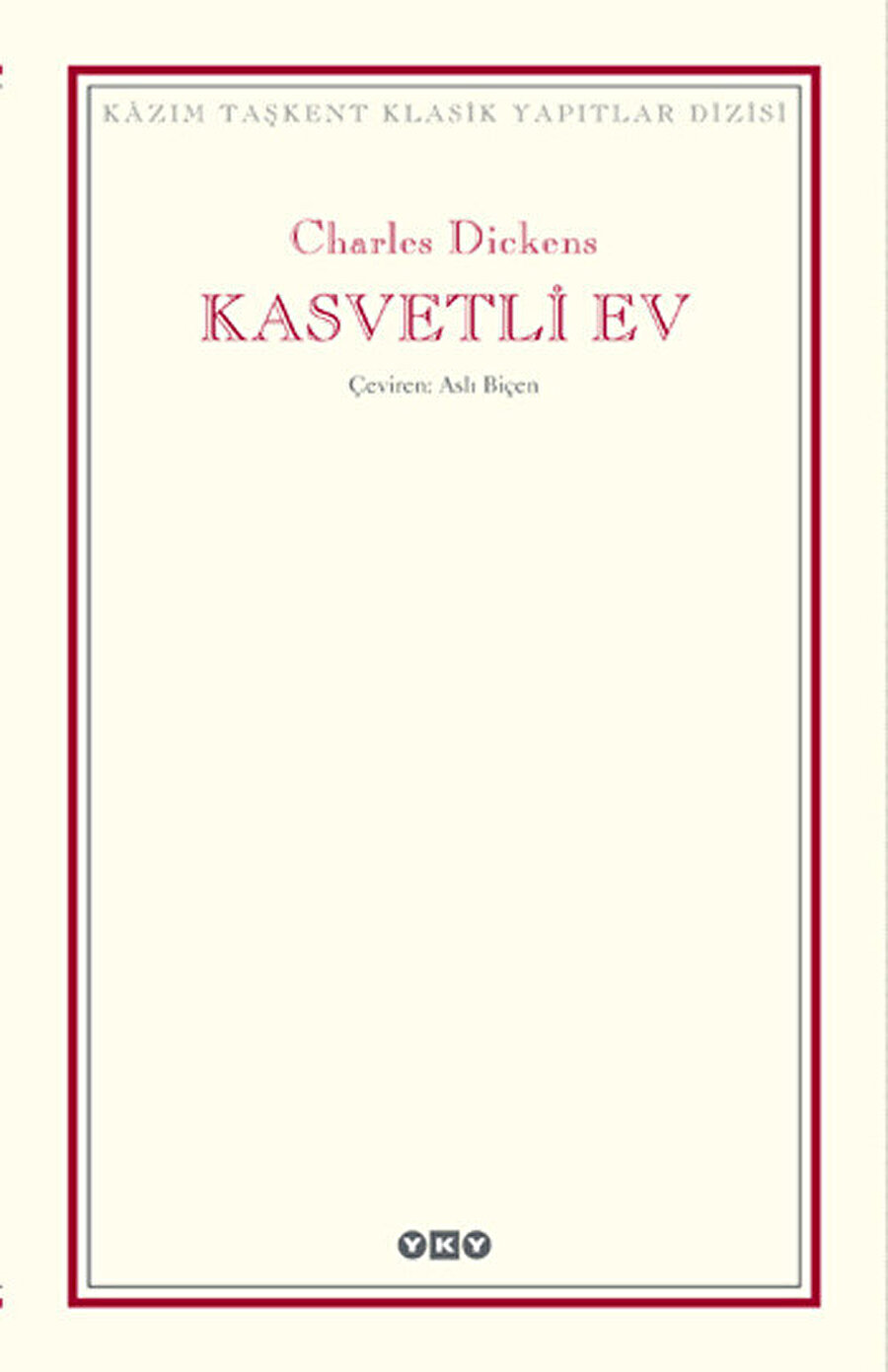 Charles Dickens, Kasvetli Ev